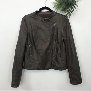 BB Dakota | Vegan Leather Moto Jacket